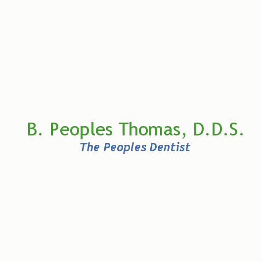 B. Peoples Thomas, D.D.S.