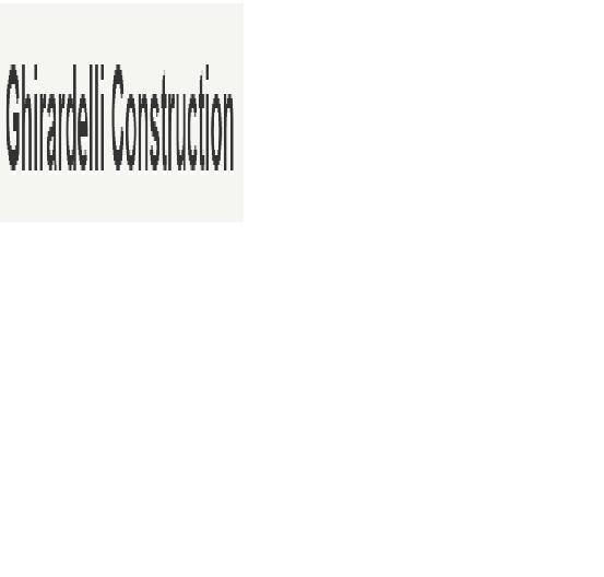 Ghirardelli Construction
