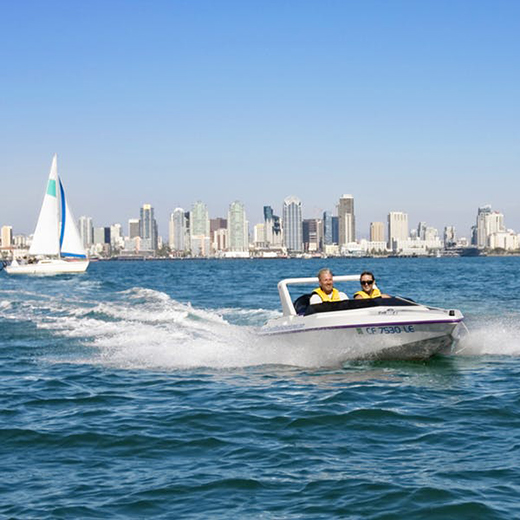 San Diego Speed Boat Adventures Tour $159.80 E-Gift Certificate