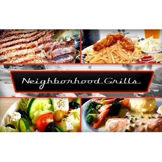 Neighborhood Grills $25 Gift Certificate