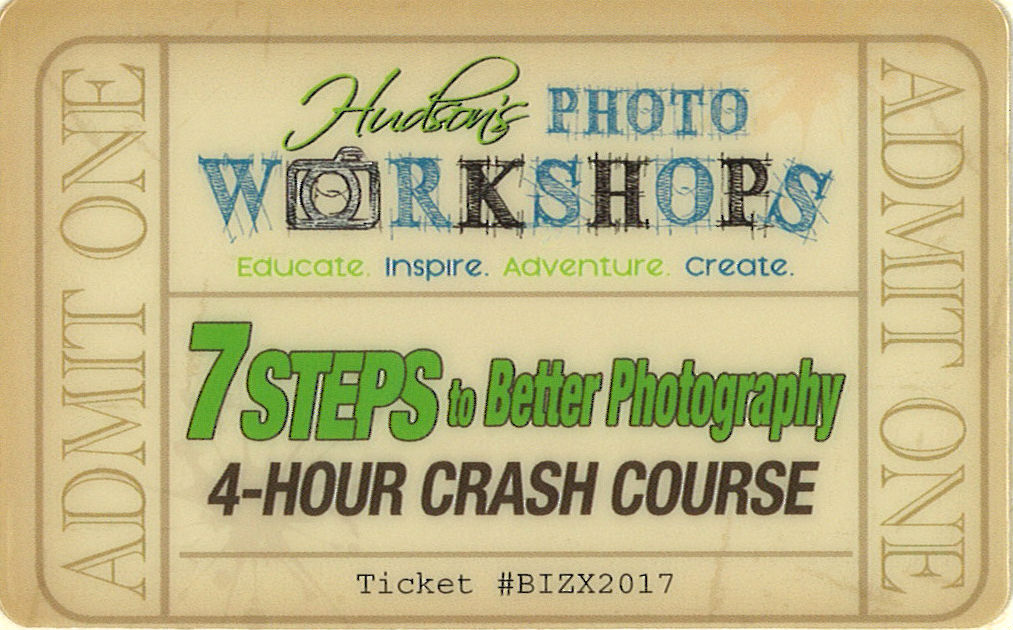 Hudson's Photo Workshop $125 Gift Card