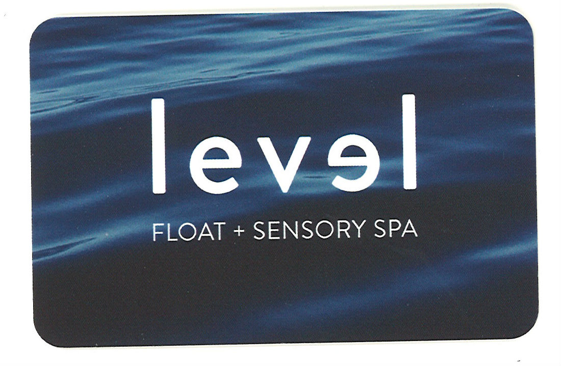Level Float + Sensory Spa $150 Gift Card