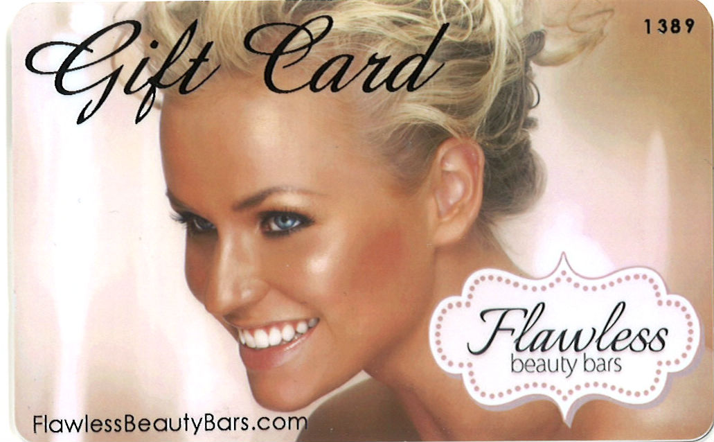 Flawless Beauty Bars $100 Gift Card