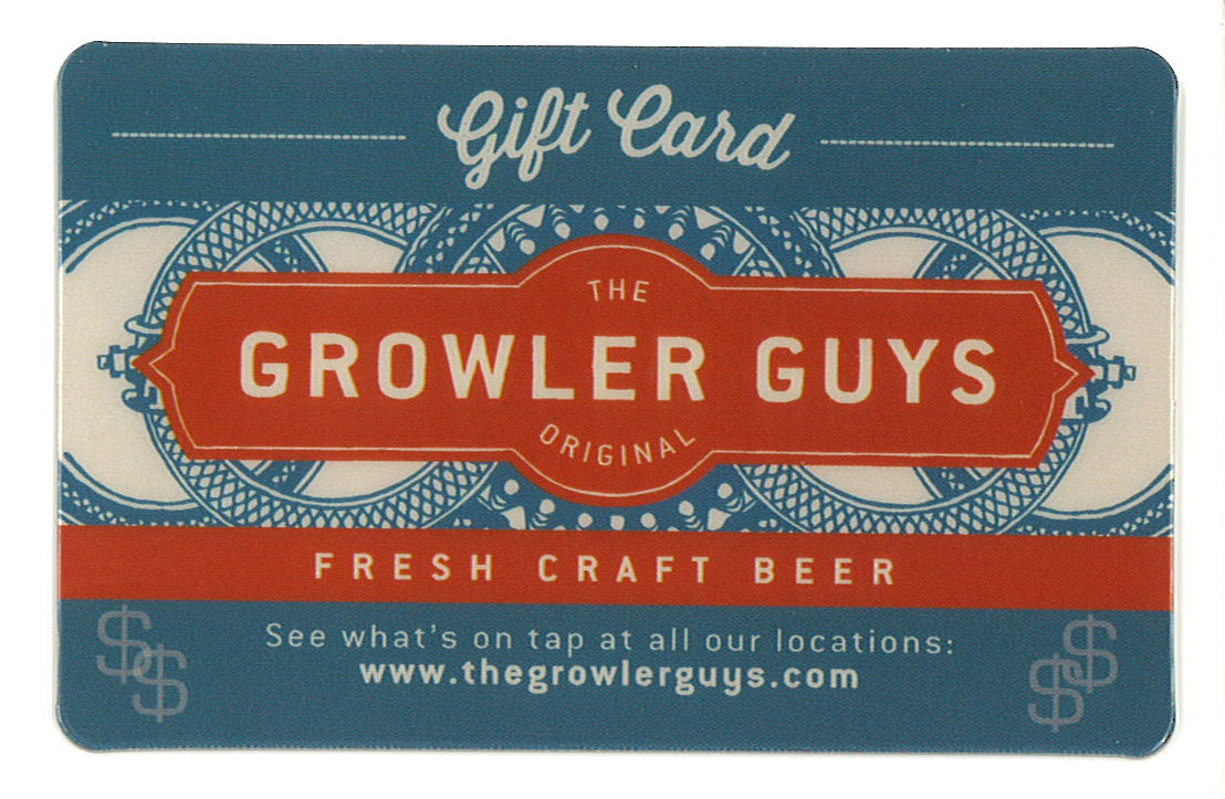 The Growler Guys $50 Gift Card