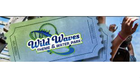 Wild Waves Enchanted Village $30 General Admission Ticket
