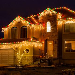 Christmas Lights Full Service Package
