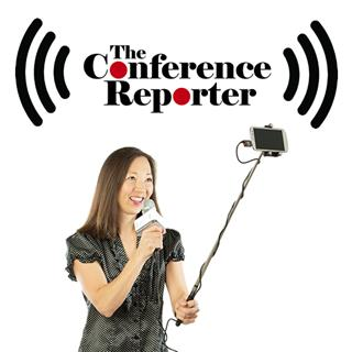 The Conference Reporter, Jolene Jang is nimble and able to get the story.