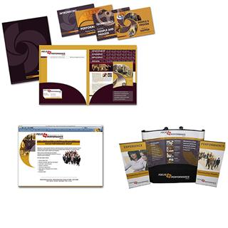 Full campaign including show booth display and powerpoint presentation.