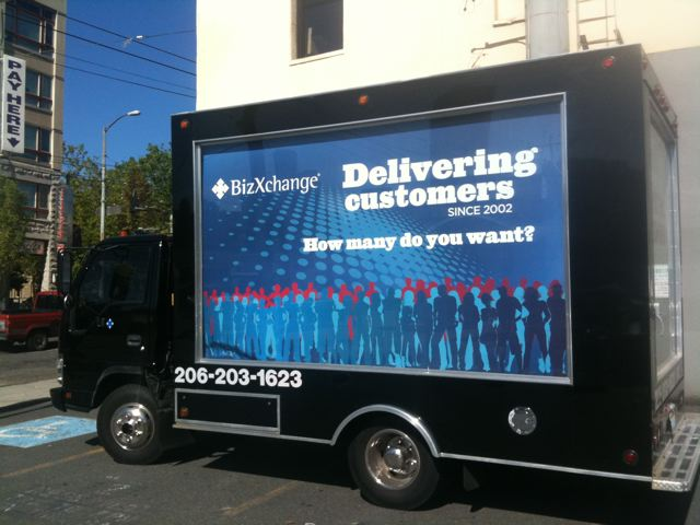 Twelve Months Mobile Billboard  Advertising