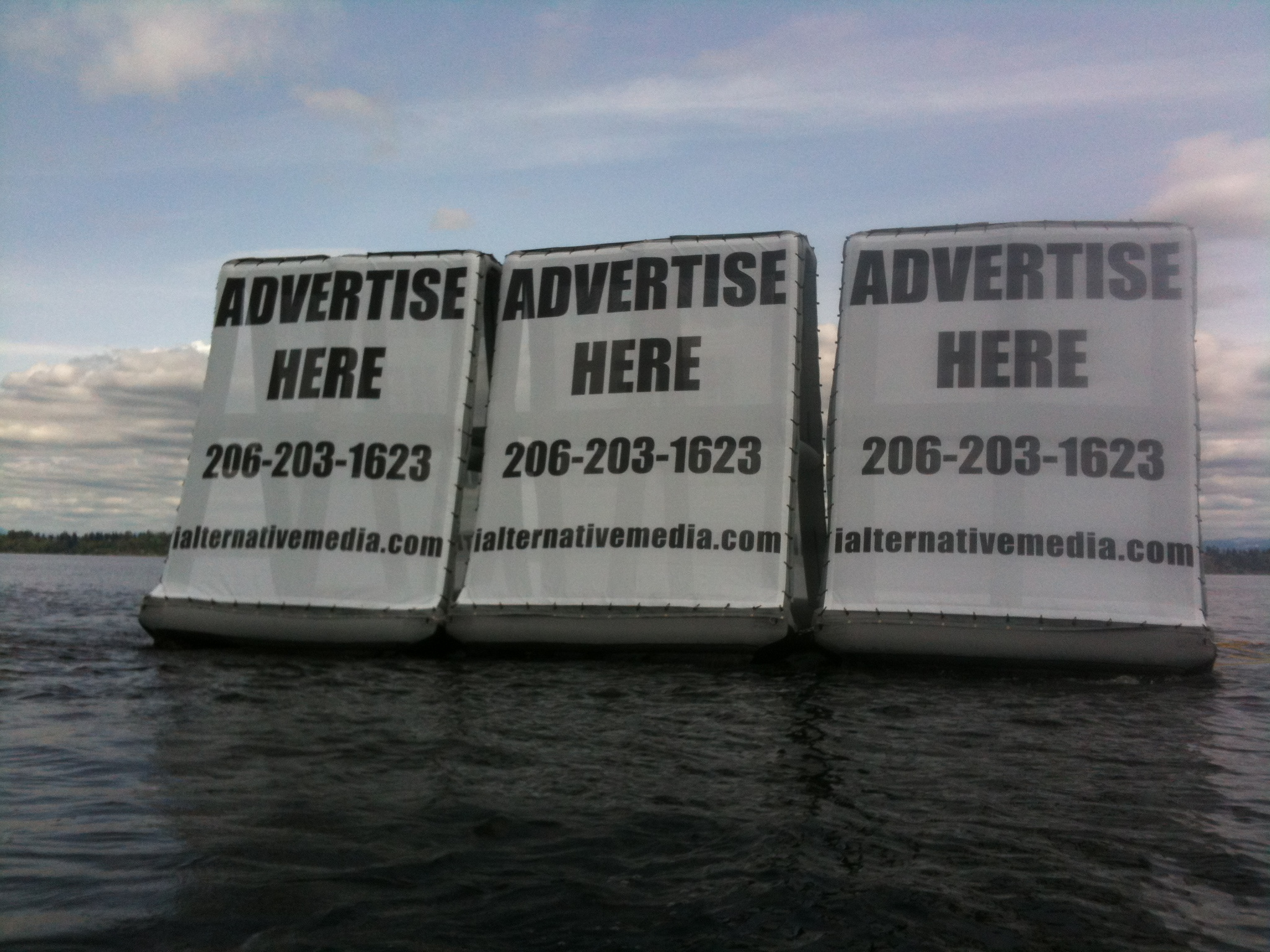 Nine Months Floating Billboard Advertising