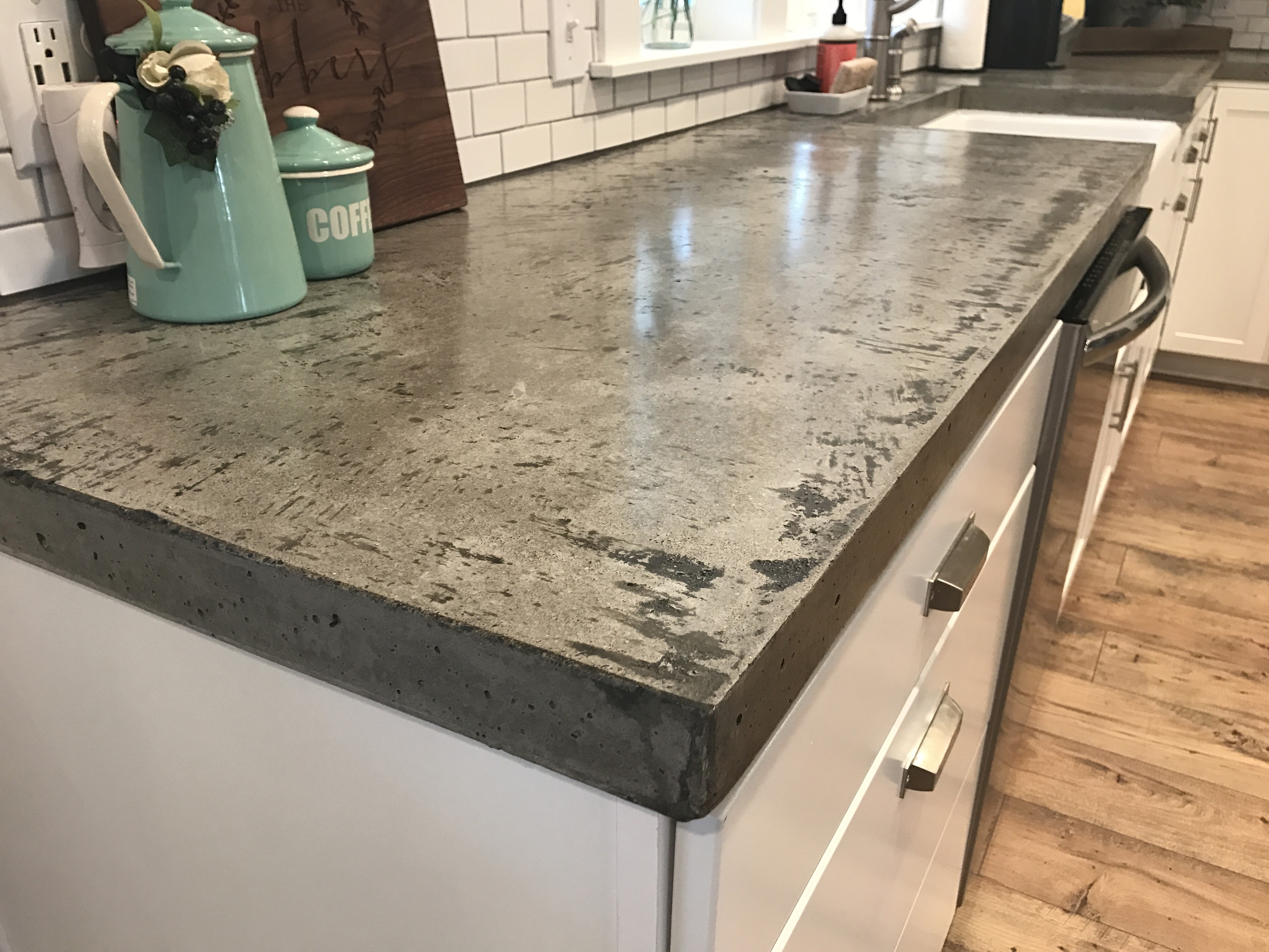 Custom Concrete Countertops - Inside or Out