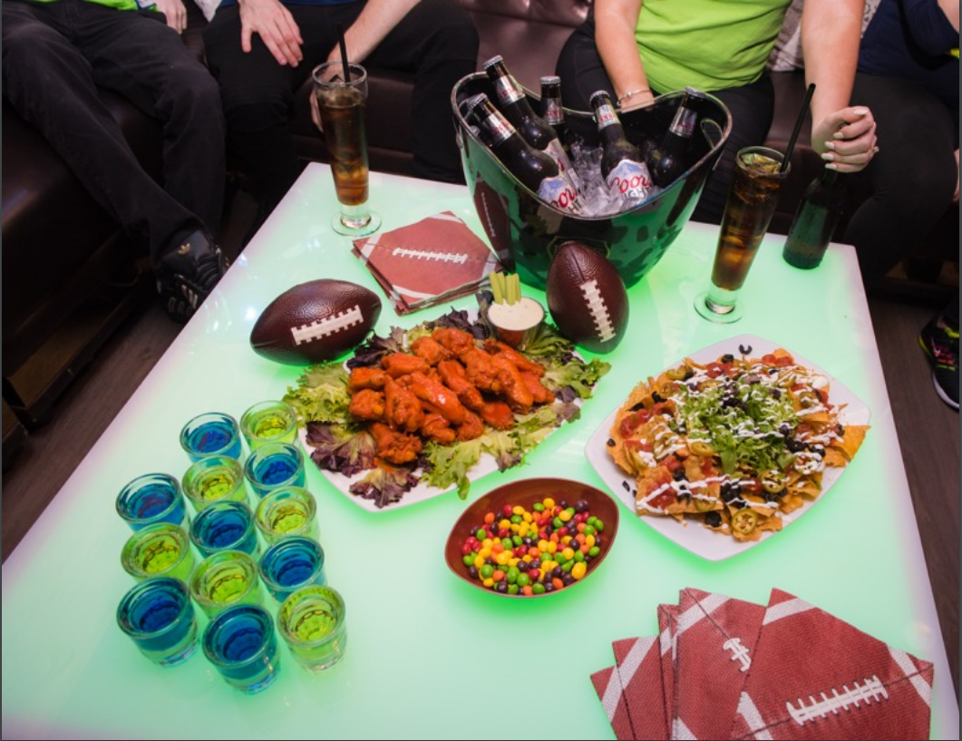 Catered Sports Party
