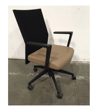 SitOnIt Sona Knit-Back Conference Chair