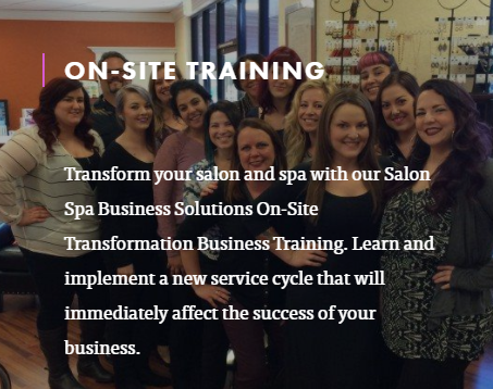 Salon Spa Business Solutions