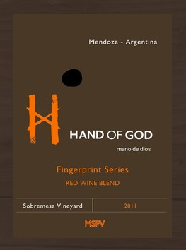 2011 Fingerprint Series MB3 Red Blend