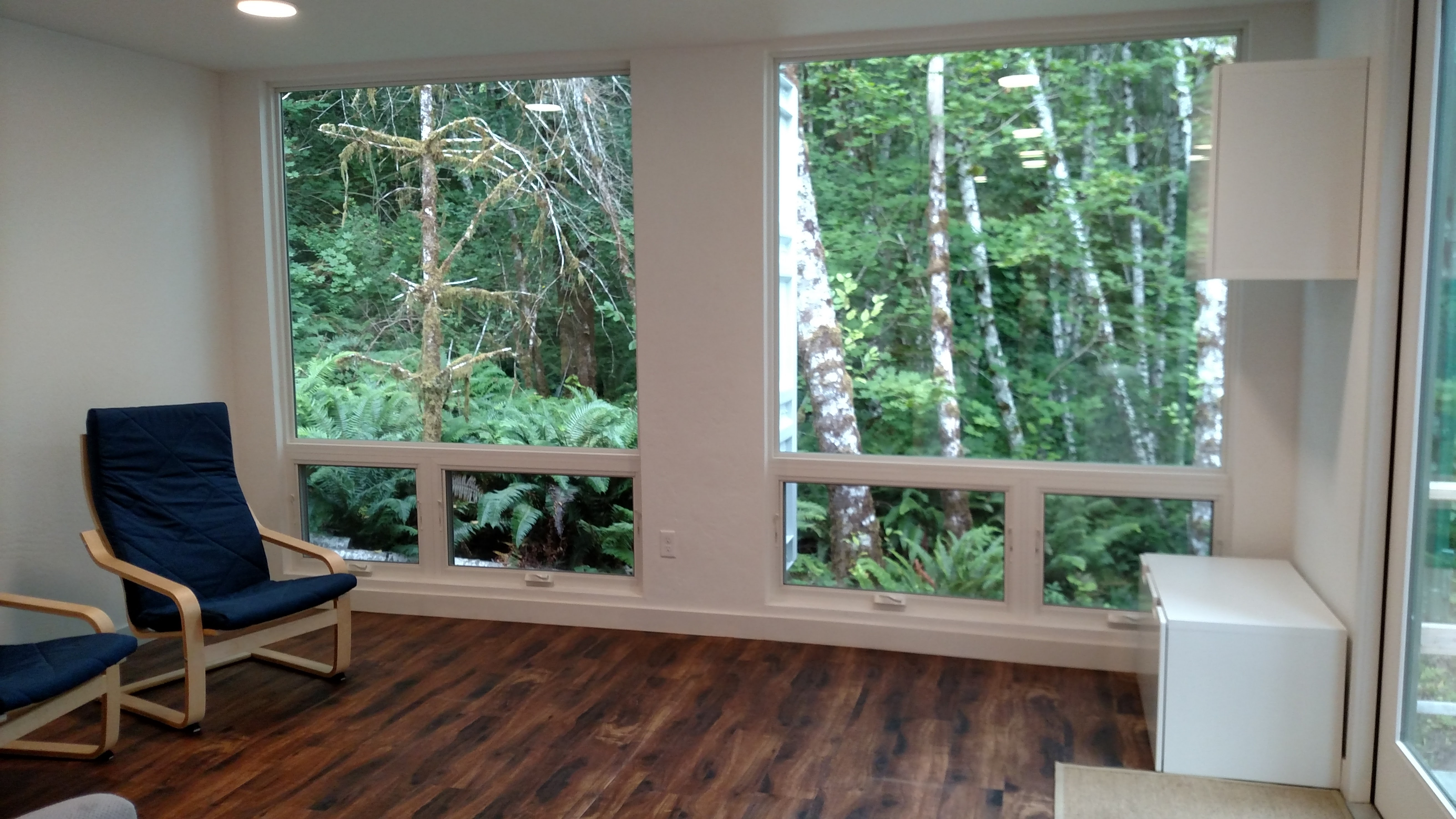 Shipping Container Vacation Home Forest Retreat- Olympic Peninsula