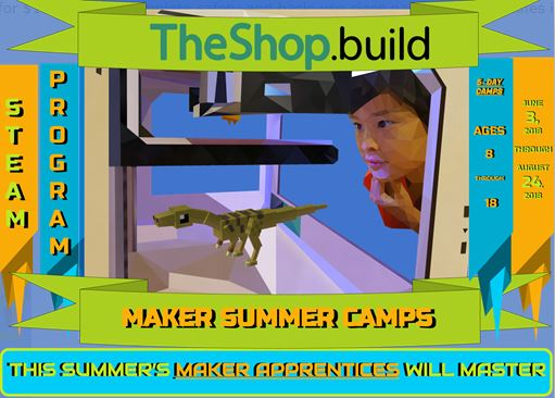 STEAM 102: Design and Build Kids Camp (Ages 8-12)