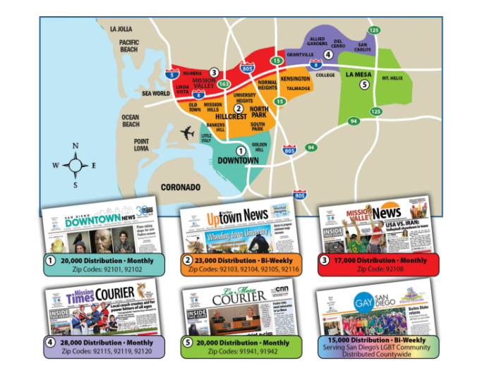 Advertising with San Diego Community News Network
