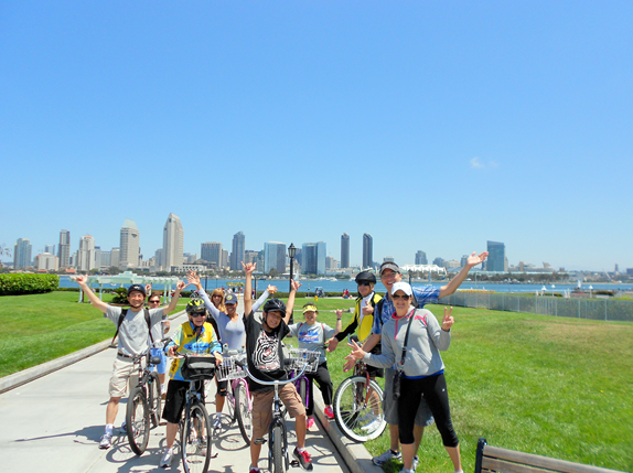 Coronado Group Biking Tours