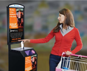 Terraboost -Brand Recognition Kiosks at over 15.000 locations