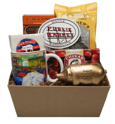 Gift Baskets & Seattle-Inspired Sports Gear