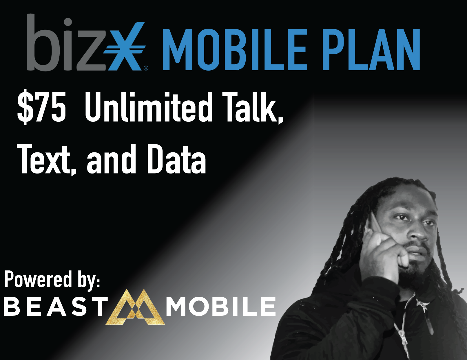 Unlimited Talk, Text & Data