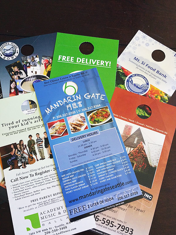 Get new cash customers with Direct Door to Door Marketing