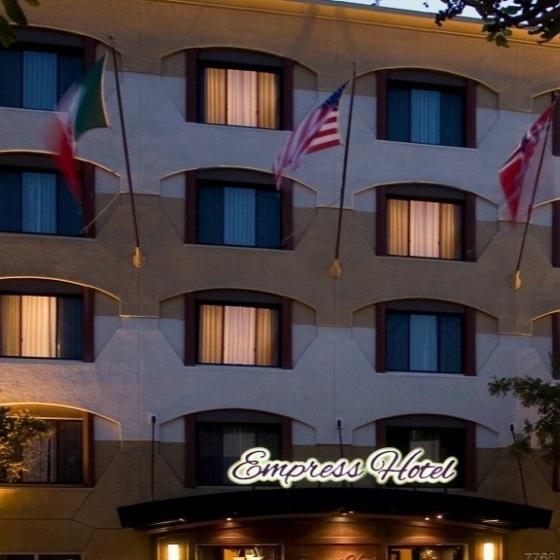 Empress Hotel in La Jolla, CA