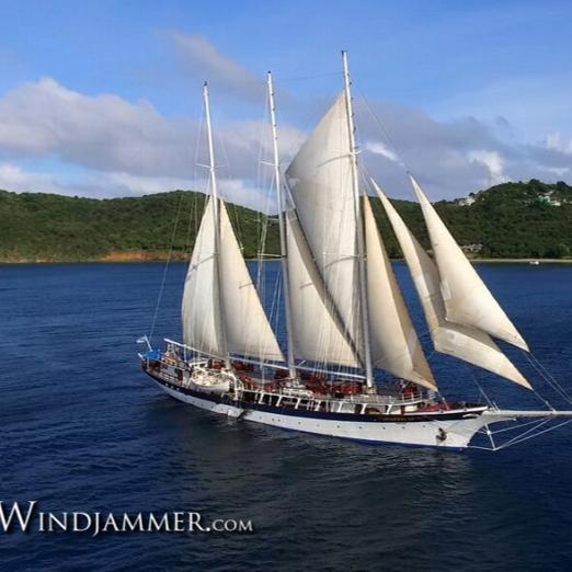 Sail Windjammer - BOARD THE S/V MANDALAY IN GRENADA