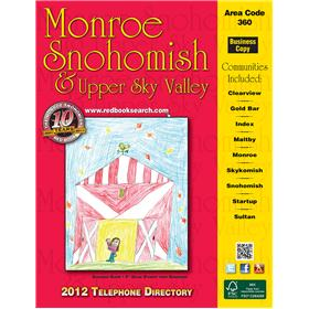 Red Book Telephone Directory for Monroe, Snohomish and Upper Sky Valley