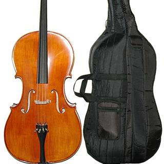 Picture of Carpini Cello Outfit:  Cello, bow, bag, rosin