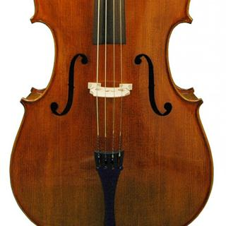 Top of Louis Carpini Cello