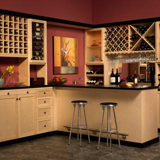 Wine & Pantry Closet from Closet Factory