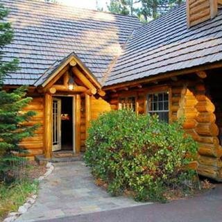 Log Lodge in Lake Tahoe, California