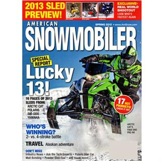 American Snowmobiler Magazine Three Year Subscription