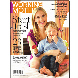 Working Mother Magazine Three year Subscription
