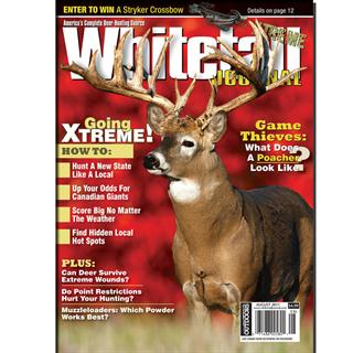 Whitetail Journal Magazine Three Year Subscription