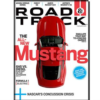 Road & Track Magazine Four Year Subscription