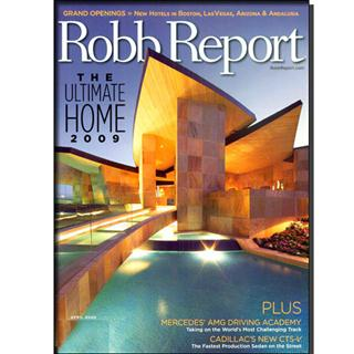 Robb Report Magazine Four Year Subscription