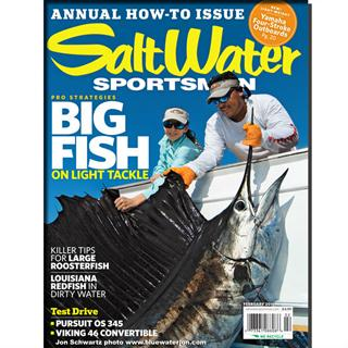 Salt Water Sportsman Magazine Three Year Subscription