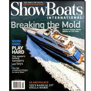 Showboats International Magazine One Year Subscription