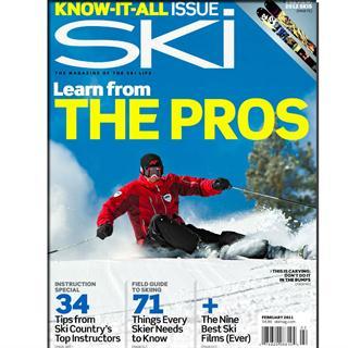 Ski Magazine Three Year Subscription