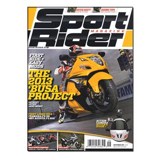 Sport Rider Magazine Three Year Subscription