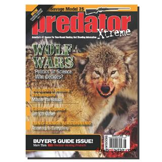 Predator Xtreme Magazine Three Year Subscription