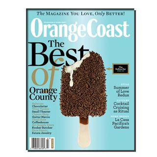 Orange Coast Magazine Three Year Subscription