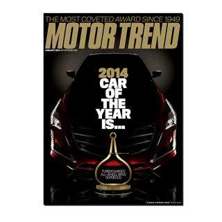 Motor Trend Magazine Four Year Subscription