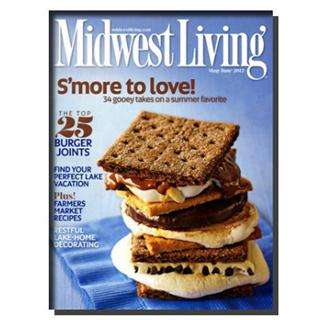 Midwest Living Magazine Four Year Subscription
