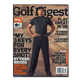Golf Digest Magazine Three Year Subscription
