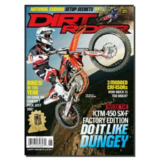 Dirt Rider Magazine Three Year Subscription