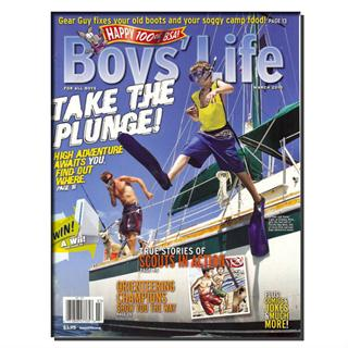 Boys' Life Magazine Three Year Subscription